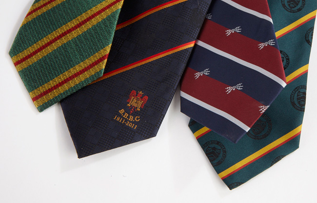 Rugby ties – support your club with pride