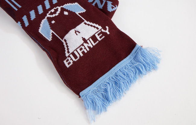 Knitted scarves, university scarves and college scarves